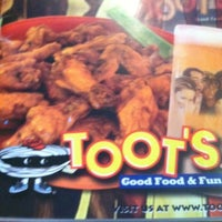 Photo taken at Toot's Good Food & Fun by Lisa N. on 6/10/2012