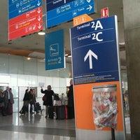 Photo taken at Terminal 2D by Saufi F. on 4/17/2012