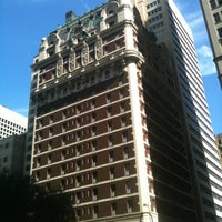 Photo taken at The Adolphus by Mark E. on 6/1/2012