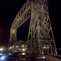 Photo taken at Duluth Lift Bridge by Justin T. on 5/25/2012