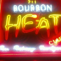 Photo taken at Bourbon Heat by Josh M. on 3/28/2012