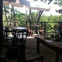 Photo taken at Macaúbas Restaurante by Henrique A. on 4/8/2012