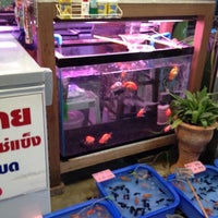 Photo taken at ร้านป.ปลา @ JJ minburi by Sue T. on 5/6/2012