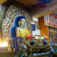 Photo taken at Dalai Lama Temple   दलाई लामा मंदिर by Lucia K. on 5/14/2012