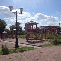 Photo taken at Детская площадка by Юлия Г. on 6/25/2012