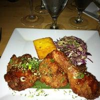 Photo taken at Meritage Restaurant & Wine Bar by Khalida J. on 6/2/2012