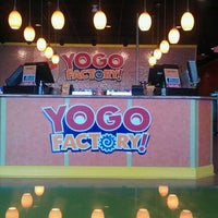 Photo taken at Yogo Factory by Mike R. on 2/14/2012