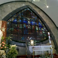 Photo taken at San Ildefonso Parish by Robert R. on 4/22/2012