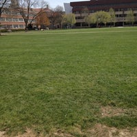 Photo taken at Syracuse University Quad by Krysta K. on 4/17/2012