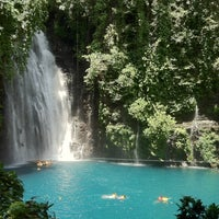 Photo taken at Tinago Falls by Criselle C. on 5/17/2012