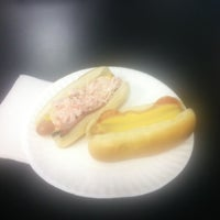 Photo taken at Elvis's Hot Dog Palace by Rob B. on 5/15/2012