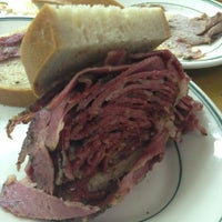 Photo taken at Famous 4th Street Delicatessen by Amy on 2/25/2012