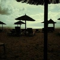 Photo taken at Melia Tortuga Beach by Vanni B. on 9/4/2012