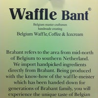 Photo taken at Waffle Bant by Dear K. on 6/29/2012
