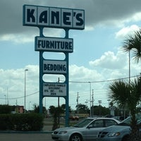 Photo taken at Kane's Furniture - New Port Richey by Courtenay O. on 3/22/2012