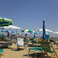 Photo taken at Bassamarea Beach & Sail by Pozzi S. on 7/9/2012
