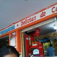 Photo taken at Panadería y Refresquería Delicias de Campo Alegre by Nicolás O. on 7/9/2012