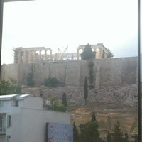 Photo taken at Cafe & Restaurant at Acropolis Museum by Kosmas S. on 5/26/2012