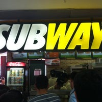 Photo taken at Subway by Eder M. on 3/9/2012