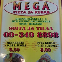 Photo prise au Mega Pizza & Kebab par Herkko V. le8/10/2012