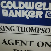 Photo taken at COLDWELL BANKER King Thompson by Betsy S. on 7/7/2012