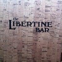 Photo taken at Libertine Bar by James R. on 4/21/2012