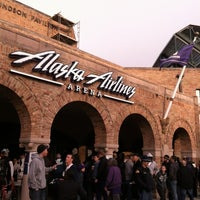 Photo taken at Alaska Airlines Arena by Tony L. on 3/21/2012