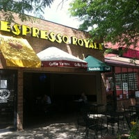 Photo taken at Espresso Royale by Laura E. on 6/13/2012