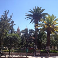 Photo taken at San Luis de la Paz by Alejandro M. on 3/24/2012