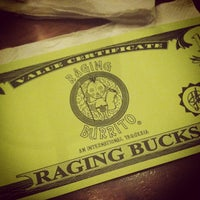 Photo taken at Raging Burrito & Taco by Trina on 7/13/2012