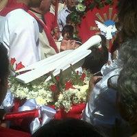 Photo taken at Festa do Divino Espirito Santo de Itanhaem by Lê B. on 5/20/2012