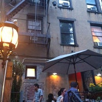 Photo taken at Medi Winebar by Mary P. on 7/4/2012
