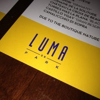 Photo taken at Luma on Park by Isaac D. on 8/24/2012