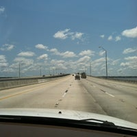 Photo taken at Henry Holland Buckman Bridge by Sean M. on 5/25/2012