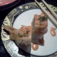 Photo taken at Kiku Japanese Steak & Sushi by Nikki B. on 3/28/2012