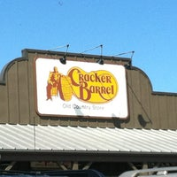 Photo taken at Cracker Barrel Old Country Store by Robert H. on 3/9/2012