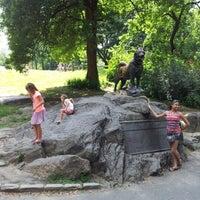 Photo taken at Central Park - Tisch Children's Zoo by Todd S. on 7/8/2012
