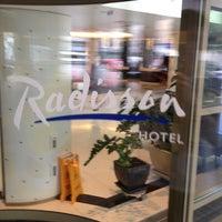 Снимок сделан в Radisson Hotel пользователем Alexey Z. 6/9/2012