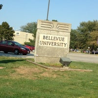 Photo taken at Administrative Services Building - Bellevue University by Milton R. on 8/27/2012