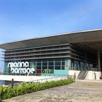 Photo taken at Marina Barrage by Franka K. on 5/20/2012