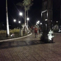 Photo taken at Riverside Boardwalk by Jason Q. on 8/17/2012