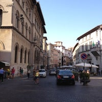 Photo taken at Piazza Giacomo Matteotti by ik0mmi a. on 8/23/2012