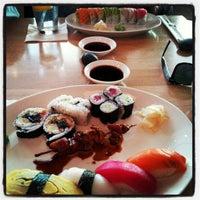 Photo taken at Sushi Zushi by Ryan H. on 4/4/2012