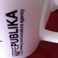 Photo taken at Republika by Dukagjin L. on 3/21/2012