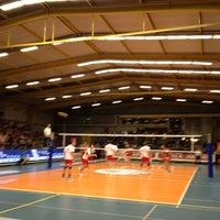 Photo taken at Volley Asse Lennik by stijn v. on 4/18/2012