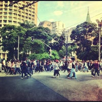 Photo taken at Avenida Rio Branco by Vitor C. on 4/8/2012