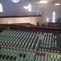 Photo taken at Unity Church of the Triangle by Justin M. on 5/6/2012