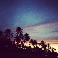 Photo taken at Playa Los Corales by Angelika_Ko on 8/17/2012