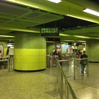 Photo taken at MTR Wan Chai Station by Andrea R. on 4/14/2012