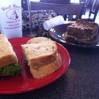 Photo taken at Red Rock Bakery & Deli by Danelle C. on 8/22/2012